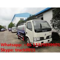 China cheapest price high quality dongfeng RHD 95hp water sprinkling truck for sale, factory sale best price water carrier on sale