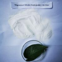 China Safety Synthetic Magnesium Silicate , Fryer Oil Cleaning Powder For Restaurant on sale