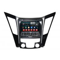 Quality Dual Zone Sonata 2013 HYUNDAI DVD Player with Android 4.1 OS , 1024 x 600px Touch screen wholesale