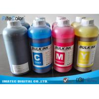 China DX4 Printheads Odorless Eco Solvent Inks Outdoor Signage Display Printing on sale