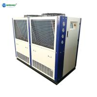 Quality 20HP 55KW Water Process Plant 380V Air Cooled Industrial Chiller Russia wholesale