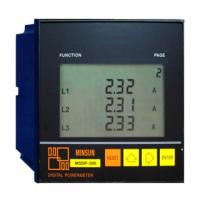 Quality AC5A / 250V resistive, DC5A / 30V resistive Three-phase LCD Ammeter Power Meter wholesale