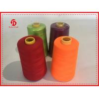 Quality 40/2 5000Y Spun Polyester Thread Bright Color High Tenacity / Coats Polyester Thread wholesale