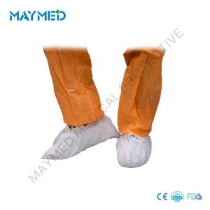 China Super Sticky PP PE Anti Skid Disposable Surgical Shoe Covers 15*36cm on sale