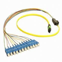 Computer Network LC / SC Fiber Patch Cord In Female-Female , MPO Patch Cable
