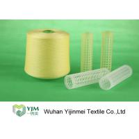 Quality Full Color Dyed Polyester Yarn Ring Spun Yarn , High Tenacity Polyester Yarn  wholesale