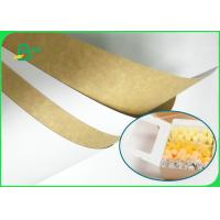 China Hard Stiffness 250gsm - 360gsm White Top Kraft Liner Paper For Making Milk Boxes on sale