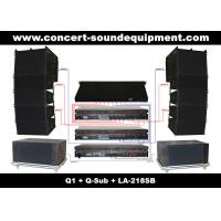 "Quality 480W Concert Sound Equipment , Full Range Line Array Speaker With1.4""+2x10"" Neodymium Drivers wholesale"