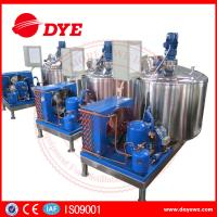 Quality 500L Vertical CE Certificate dariy milk cooling tank with direct refrigeration wholesale