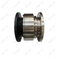 Quality Carbon steel straight through type flange connection high pressure swivel joint for hydraulic oil, water wholesale