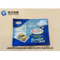 Quality Oxygen Resistant 3 Side Heat Seal Plastic Bags for Sea Food Packaging CE / ROHS wholesale