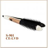 Quality Home Use Hair Curler Comb PTC Hair Straightener New Design Two in One wholesale