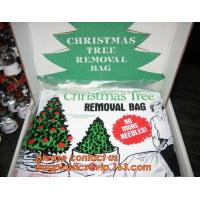Quality Promotion large removal waterproof Christmas artificial decorated tree bag,10 Ft Christmas Tree Removal Gift Bags packag wholesale