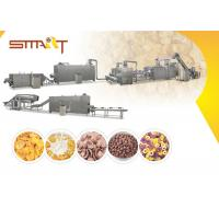 Quality EN AS Standard Corn Flakes Production Line SS Made 35m / 42m Length Optional wholesale