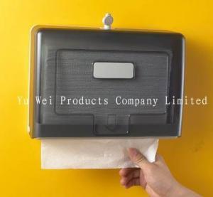 China Wall Mounted M Fold Hand Towel Dispenser Toilet Paper Holder Tissue Dispenser on sale