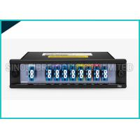 Quality 1 X 8 Channels 1310nm Singlemode Fiber Optic Splitter CWDM Mux / Demux Modules wholesale