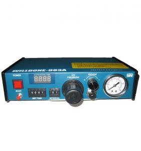 Quality Blue Color Auto Glue Dispenser , Automatic Hot Glue Dispenser 235 X 225 X 633mm wholesale