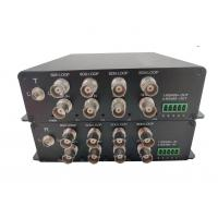 Quality Humanity 8 channel 3GSDI to Fiber Digital Video Converter with RS485 data and customized services sdi to fiber converter wholesale