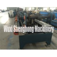 Quality Punching Process C Z Purlin Roll Forming Machine With 80 - 300 Mm Width wholesale