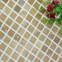Quality Square Pattern Kitchen Backsplash Wall Tile , Stone Kitchen Backsplash Subway Tile wholesale