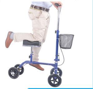 China Light weight Safe crutch alternative knee walker on sale