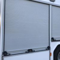 China Outdoor Installed Aluminium Window Roller Shutters (Fire Truck) on sale