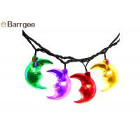 Quality Moon Fairy Solar Christmas Tree String Lights , Color Changing LED Christmas Lights 6M 30 LEDs wholesale