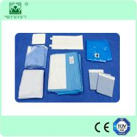 Disposable nonwoven Surgical Craniotomy Drape Pack made in china