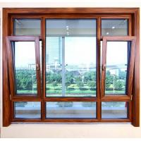 Quality Heat Insulated Aluminum Tilt And Turn Windows Wind Resistance Space Saving wholesale