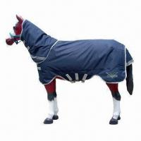 Quality Horse Blanket, Made of 1,200D Polyester, with Water-resistant and Breathable Cotton Linen wholesale