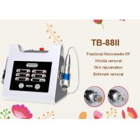 Quality 3mm Portable Fractional RF Microneedle Machine for Skin Rejuvenation Skin Lifting wholesale