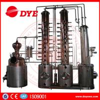 Quality 130gal Wine Copper Distilling EquipmentAlcohol Distiller Semi - Automatic wholesale