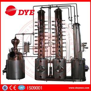 Quality 130gal Wine Copper Distilling EquipmentAlcohol Distiller Semi - Automatic wholesale
