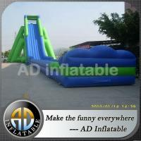 China Biggest inflatable slide slip n slide adult on sale