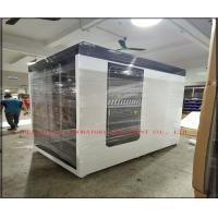 China Standard Size Clean Room Equipment Grey Black Human Body Air Shower Sterilizer Tunnel on sale