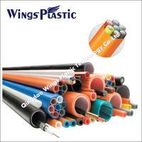 Quality Cod Cable Protection Pipe Making Machine / Corrugated Optic Duct Extrusion Line wholesale