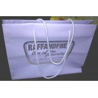 Quality Gravure Printed Soft Plastic Shopping Bags Multi Size With Rope Handle wholesale