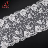 Quality Pollution - Free Underclothes Embroidered Lace Trim For Sensitive Skin wholesale