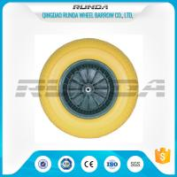 China Various Color PU Foam Wheel Roller Bearing Super Elasticity For Air Compressor on sale