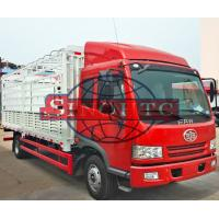 Quality 4 X 2 Cargo Transport Truck With High Sidewall 15 Tons Max Loading wholesale