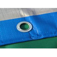 Quality Blue Geosynthetic Fabric PE Tarpaulins 200GSM For Truck Cover wholesale