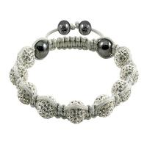 Quality Shamballa Crystal Ball Bangle Bracelets  wholesale