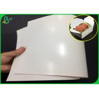 Quality 300gsm FDA Certified One side PE Coated FBB Paper With High glossy wholesale
