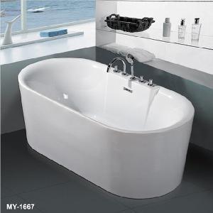 Quality Acrylic Plain Bathtubs (MY-1667) wholesale