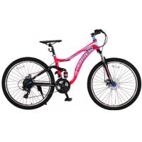Quality Tianjin manufacturer 24 inch aluminium alloy dual suspension mountain bike/bIcycle/bicicle with Shimano 21 speed wholesale