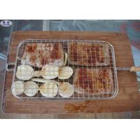 Galvanized Crimped Barbecue Grill Wire Mesh Customized Size BBQ Sheet