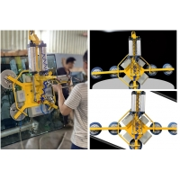 China Electric Heavy Duty Glass Suction Lifter For Construction Glass on sale