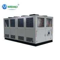 Cheap -5deg Celsius 30 tons Air Cooled Glycol Chiller with Scroll Compressor R410a Gas for sale