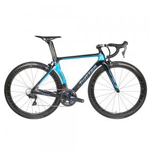 China R8000 Groupset Carbon Fiber Road Bike 22 Speed Holographic Frame Carbon Wheel on sale