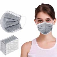 China Earloop Style Disposable Non Woven Face Mask Effectively Remove Unpleasant Smell on sale